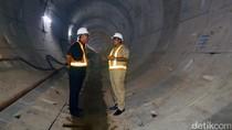 Plt Gubernur DKI dan Pimpinan DPRD Tinjau Proyek MRT