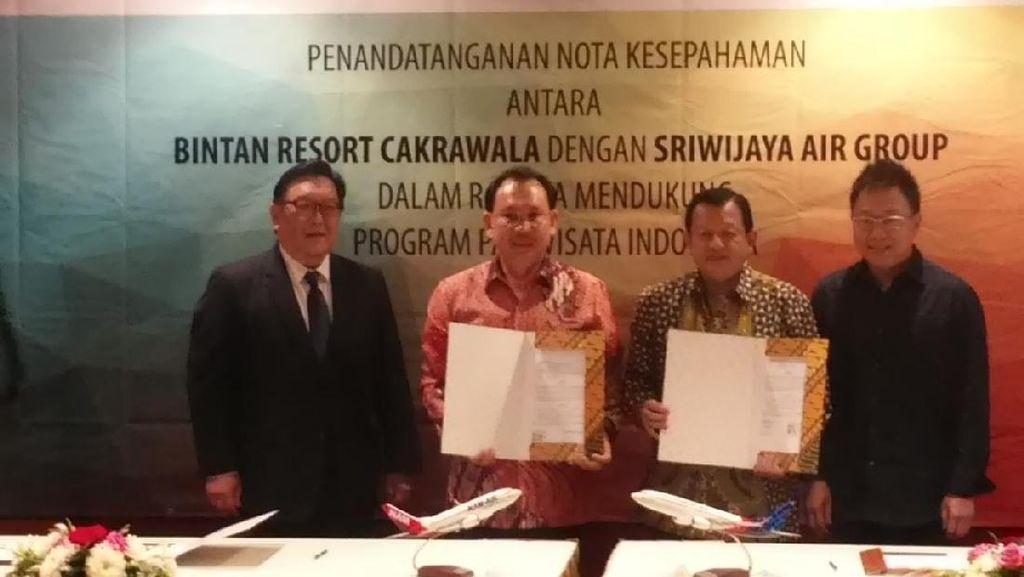 Bangun Bandara Baru, Sriwijaya Air & Bintan Sasar Wisman