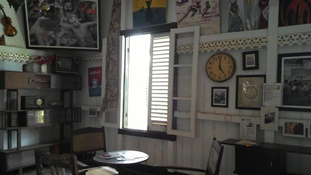Merangkai Kata Jadi Cerita di Museum Kata Andrea Hirata