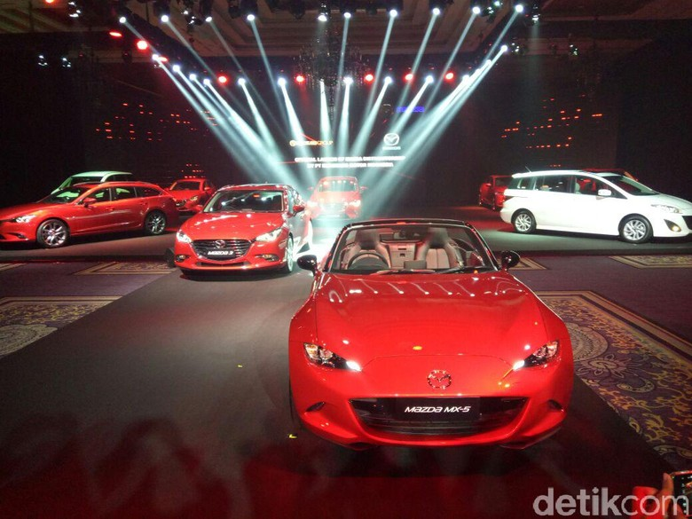 Ini Kisaran Harga 5 Mobil Baru Mazda