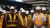 Sumarsono Ajak Pimpinan DPRD Tinjau Proyek MRT di Setiabudi