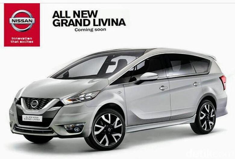 Inikah Tampang Nissan Livina Terbaru?