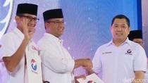 Perindo Deklarasi Dukung Anies-Sandi, Prabowo dan Lulung Hadir