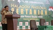 Oesman Sapta Buka Halaqoh Nasional Pertanian