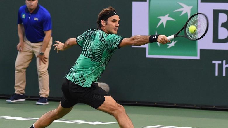 Federer vs Nadal di Babak Keempat