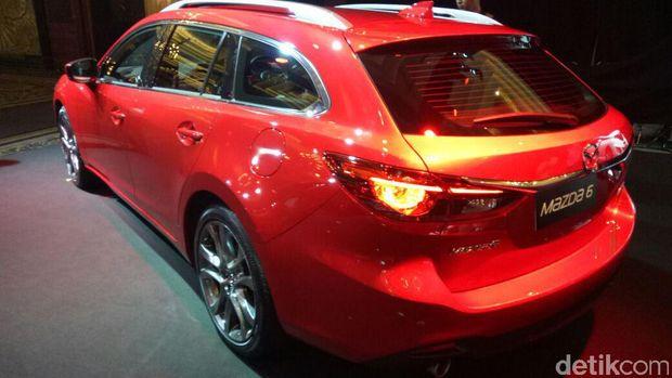 Tak Banyak Kompetitor, Mazda Yakin dengan Mazda6 Estate
