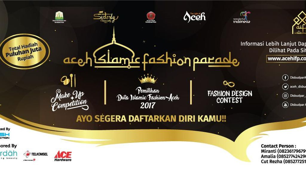 Aceh Akan Gelar Acara Fashion Terbesar!