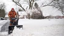 Badai Salju di AS Bagian Timur Tewaskan 5 Orang