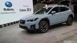 Subaru XV Tampil Segar dengan Pelek Bintang