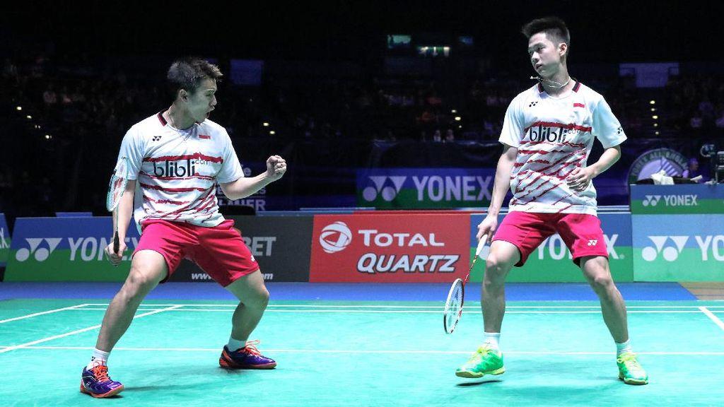 Indonesia Pastikan Gelar Ganda Putra di India Terbuka Super Series