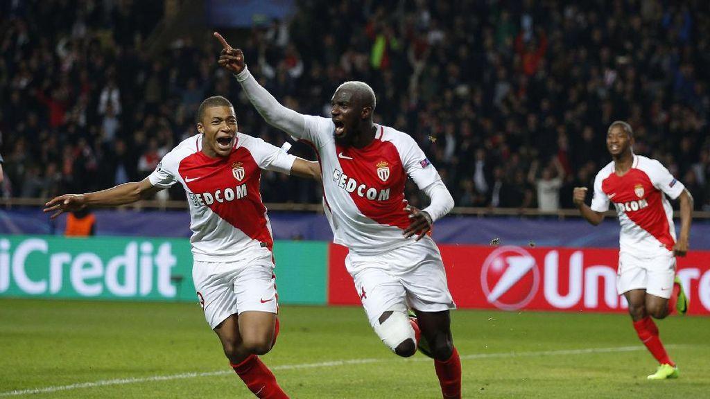 AS Monaco Lolos ke Perempatfinal Liga Champions