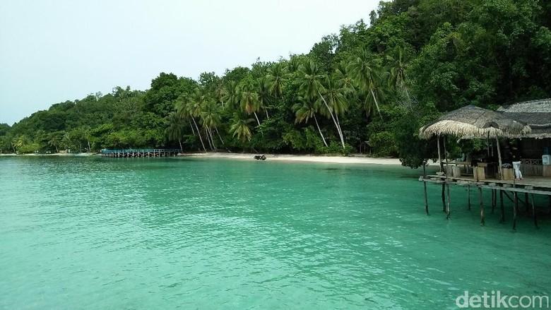 Pantai Sapokren di Raja Ampat (Bonauli/detikTravel)