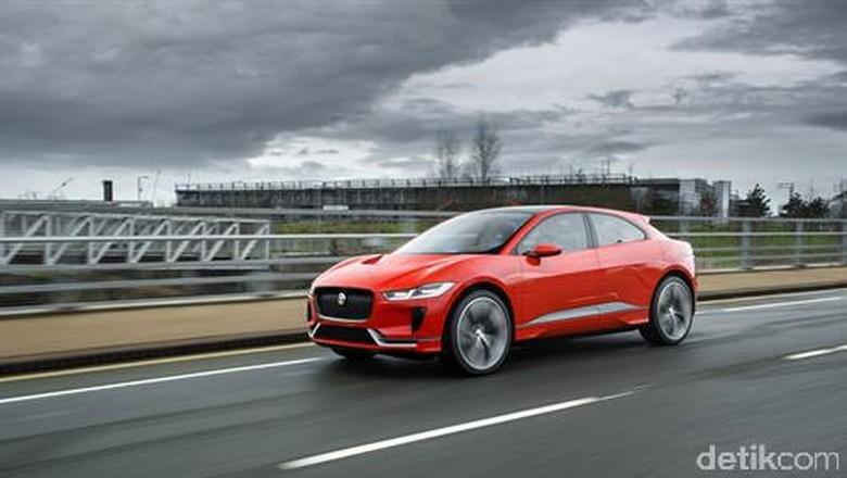 Jaguar Mulai Uji Mobil Listriknya
