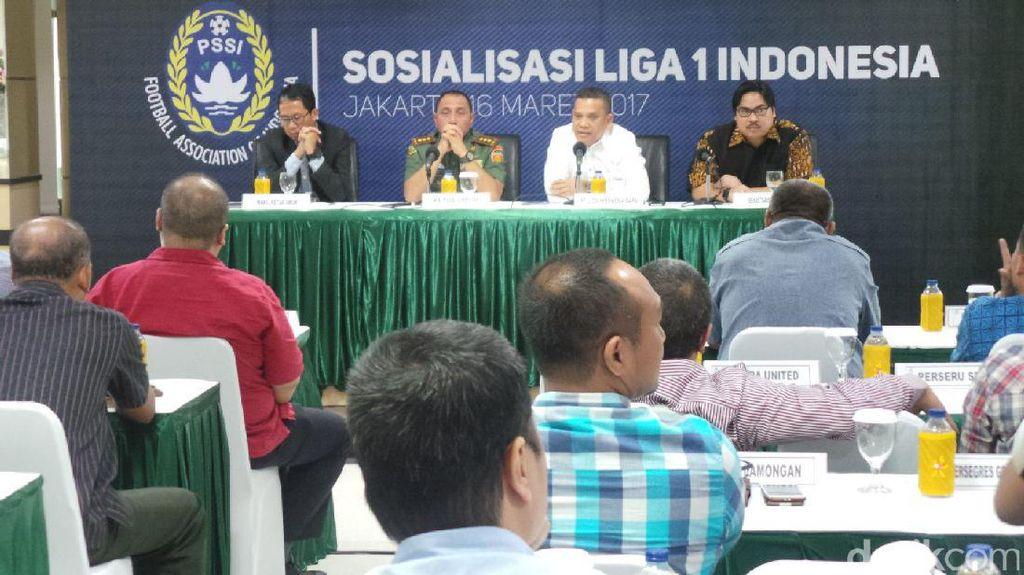 PSSI: Juara Liga 1 Tanpa Hadiah Uang Tunai