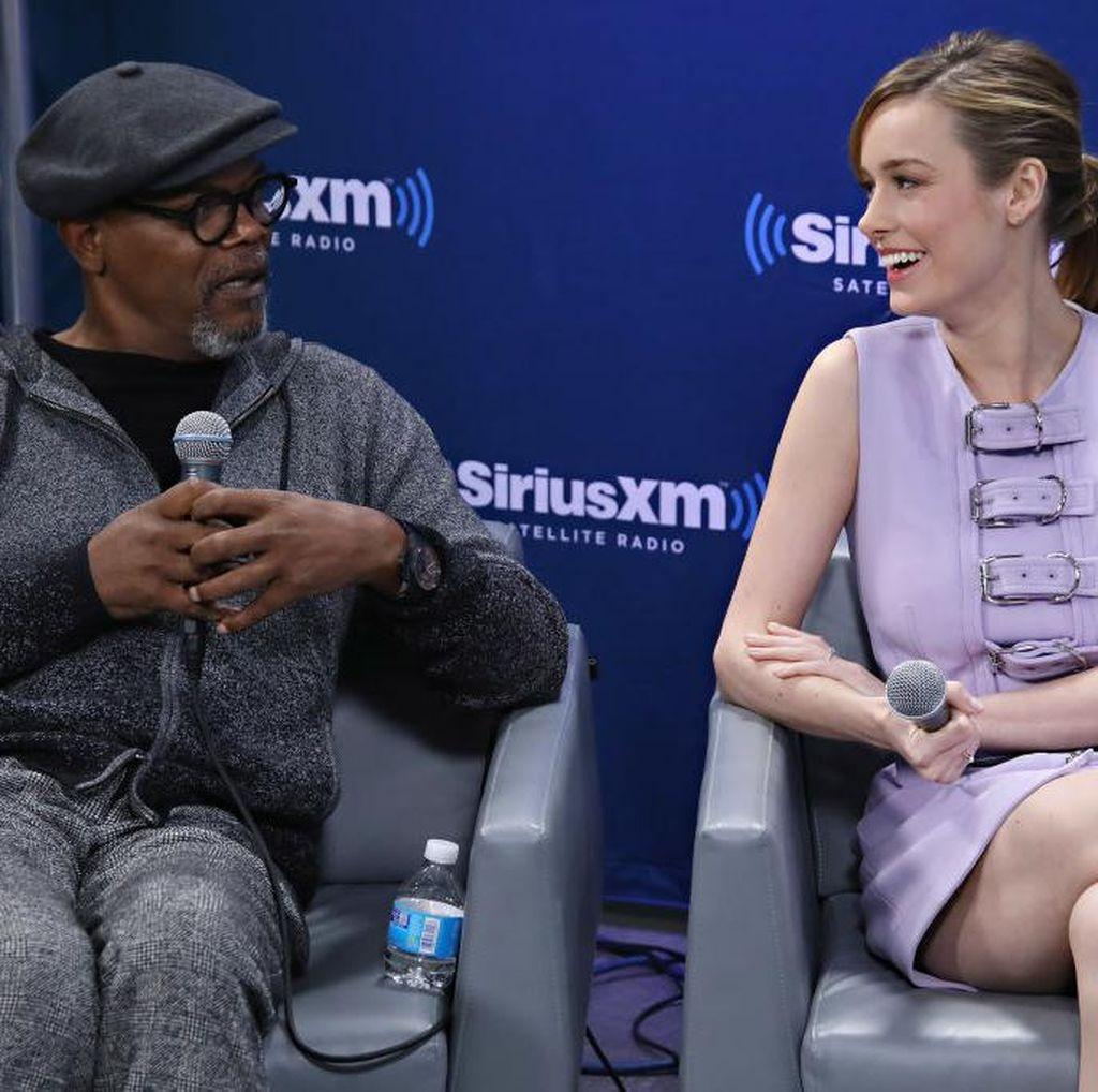 Kesan Brie Larson dan Samuel L Jackson Main Bareng King Kong