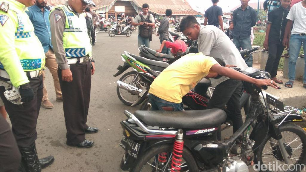 Polisi Tangkap Remaja yang Balap Liar di Banda Aceh
