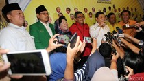 Parpol Pendukung Ahok-Djarot Kumpul di DPP Golkar