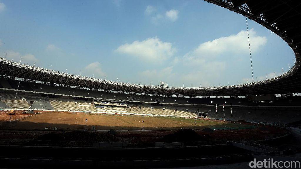 Kondisi Terkini Proyek Asian Games yang Dibenahi Jokowi