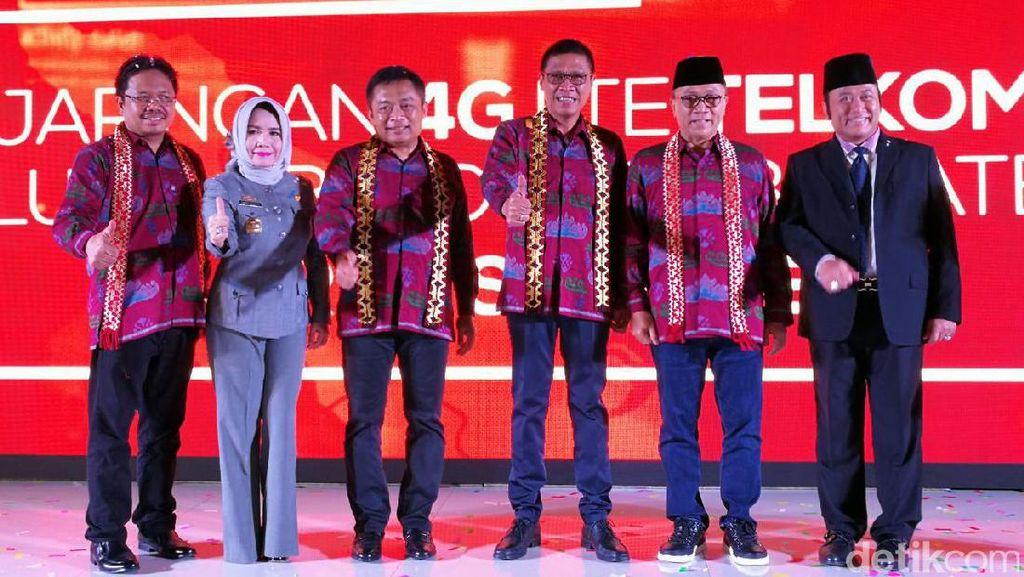4G Telkomsel Selimuti 154 Ibu Kota Kabupaten di Sumatera