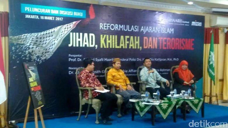 Maarif Institute Bedah Jihad dan Terorisme Lewat Buku