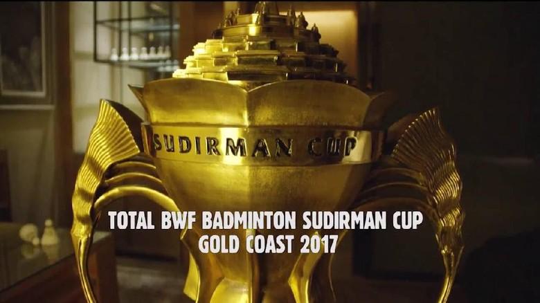 Gabung Denmark dan India, PBSI Target Lolos Grup Piala Sudirman