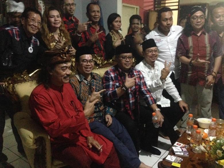 Sekjen PDIP dan Sukmawati Wakili - Jakarta Sekjen PDIP Hasto Kristiyanto dan Ketum PPP Djan Faridz mewakili pasangan petahana di Pilgub DKI Basuki T