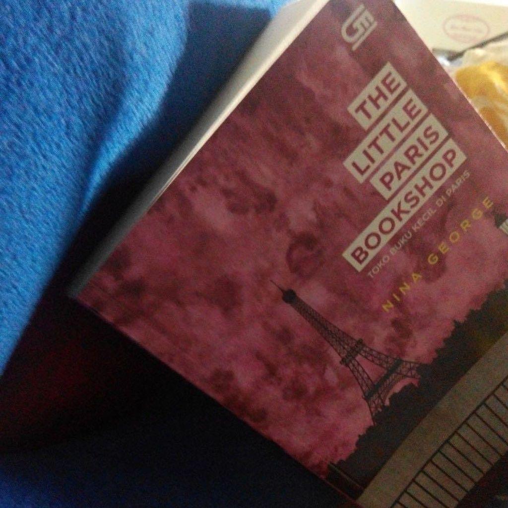The Little Paris Bookshop: Apotek Sastra dan Perjalanan yang Menyembuhkan Luka