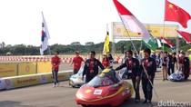 Mahasiswa Indonesia Adu Mobil Hemat Energi di Singapura