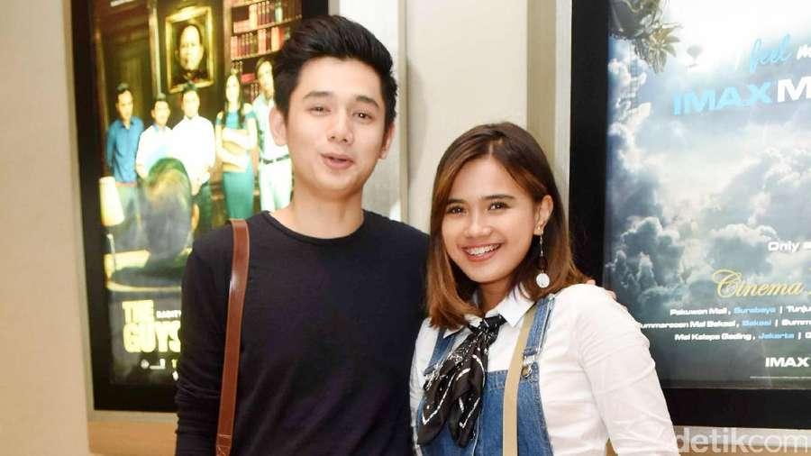Rayn Wijaya dan Audi Marissa, Happy Banget Nih!