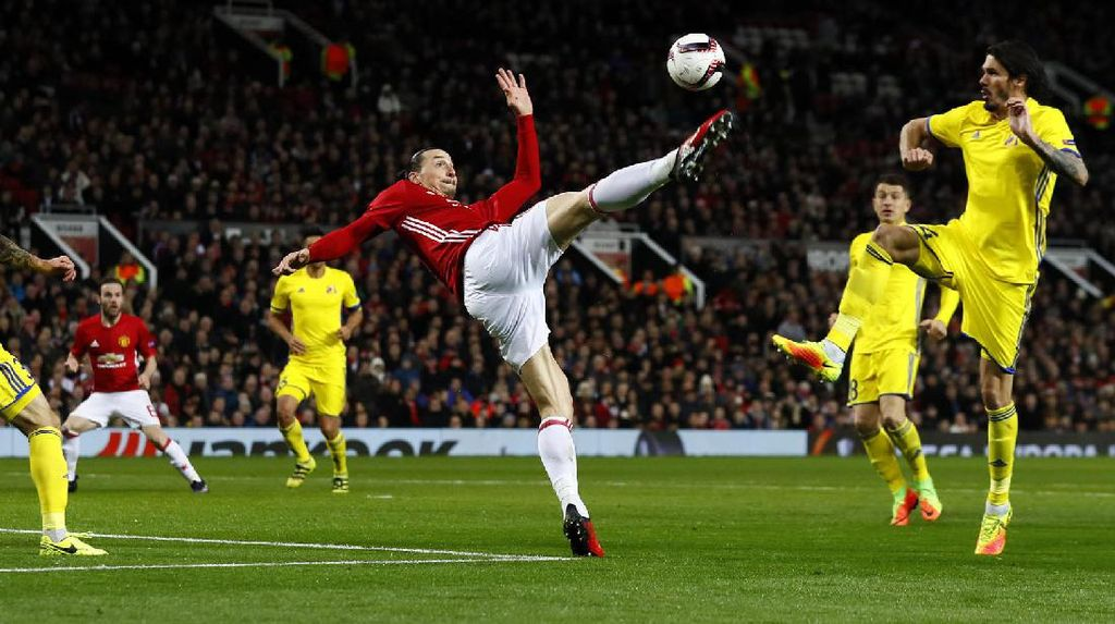 MU Melangkah ke Perempatfinal Liga Europa