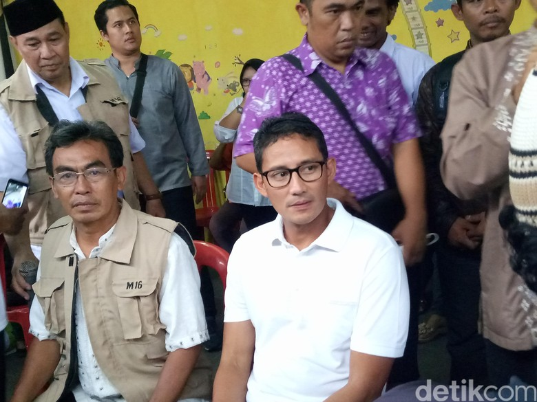 Sandiaga Tidak akan Hadiri Panggilan Polda Metro Jaya Besok