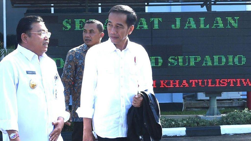 Hari Kedua di Kalbar, Jokowi akan Resmikan PLBN Aruk