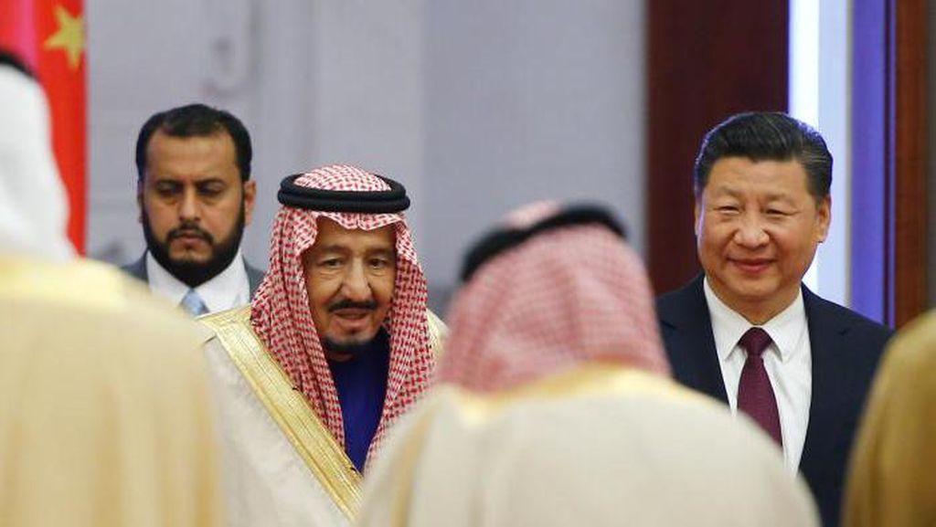 Deal Proyek Rp 860 T, Seberapa Dekat Raja Salman dan Presiden China?