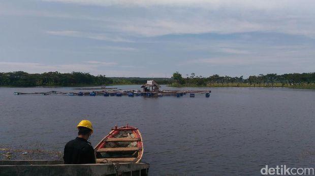 Embung dibangun PT Semen Indonesia
