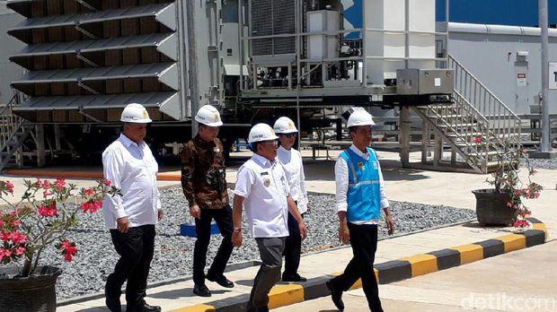 Presiden Jokowi cek MPP PLTG Mempawah 100 MW