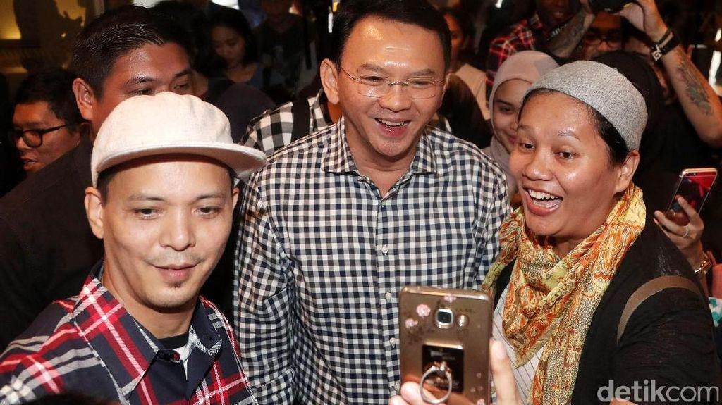 Tanggapi Hasil Survei LSI Denny JA, Ahok: Man Jadda Wajada