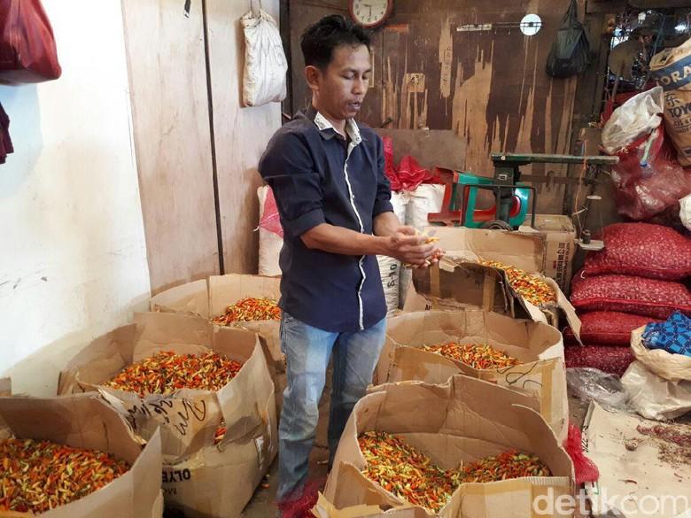 Harga Cabai Rawit Merah di DKI Turun Jadi Rp 71.000/Kg