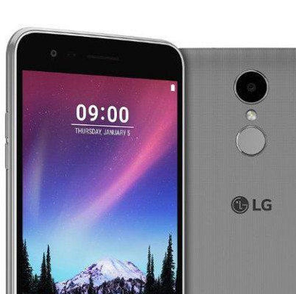 LG Siapkan Generasi Baru Ponsel Seflie K10 2017