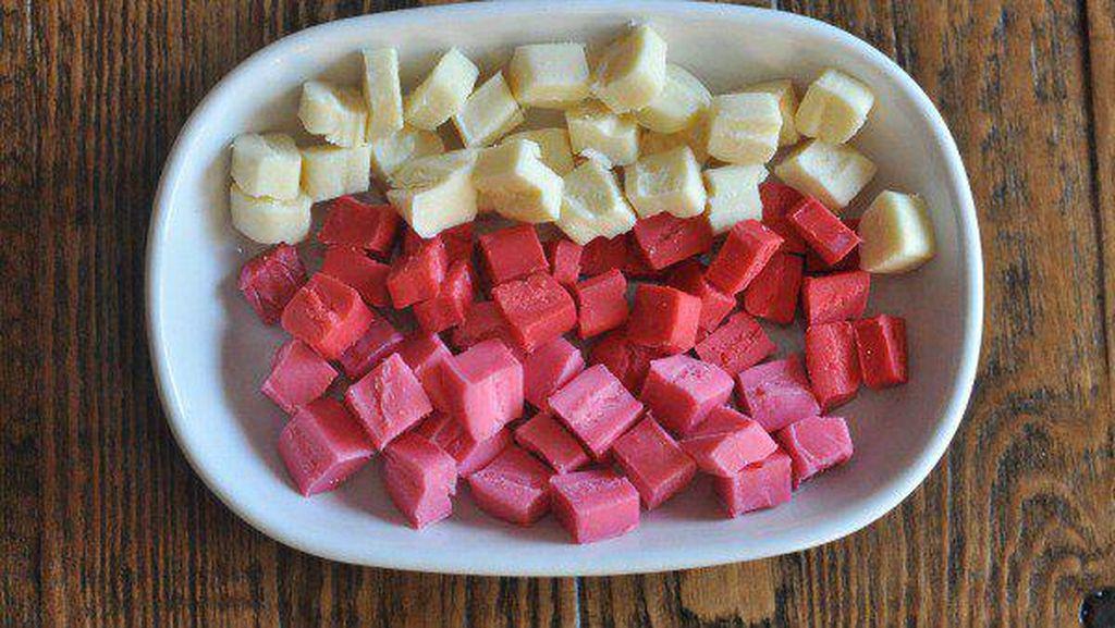 Cantiknya String Cheese Warna-warni Rasa Strawberry hingga Fruit Punch!