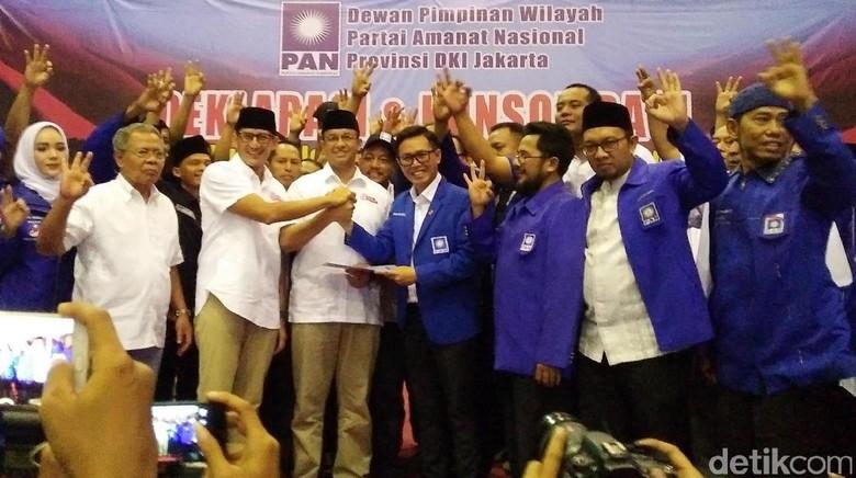 Anies-Sandi Didukung DPW PAN Jakarta