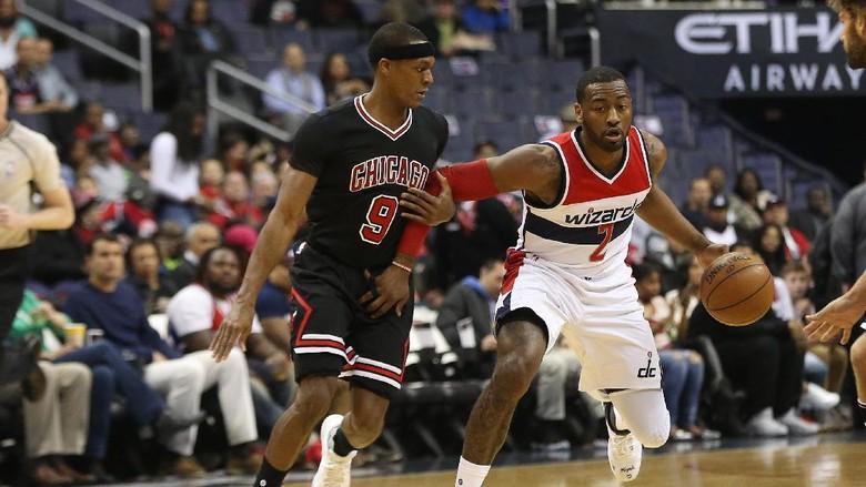 Wizards Bekap Bulls yang Tanpa Wade