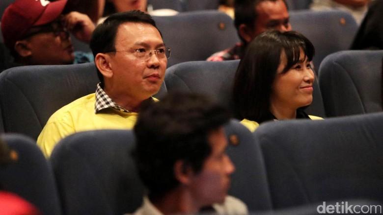 Ahok Isi Akhir Pekan dengan Nonton Film Bidah Cinta