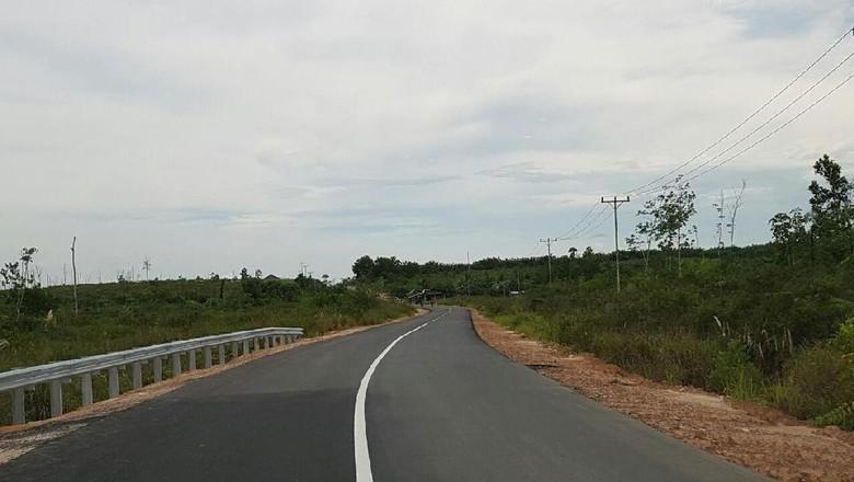 Butuh Rp 1 Triliun Perlebar Jalan Akses ke 3 Pos Perbatasan Kalimantan