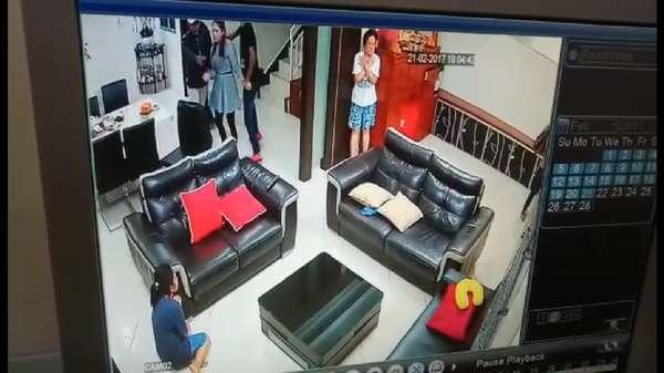 Detik-detik Penculikan Ling Ling WN Malaysia yang Terekam CCTV