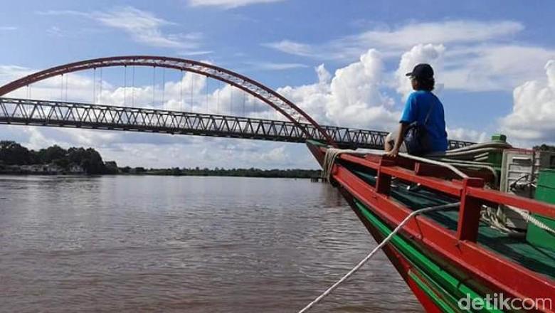Foto: Menyusuri Sungai Kahayan (Brigida Emi Lilia/dTraveler)