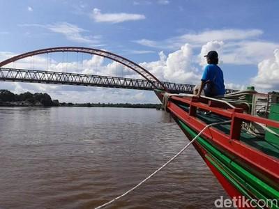 Yang Asyik di Palangkaraya, Wisata Susur Sungai Ala Amazon