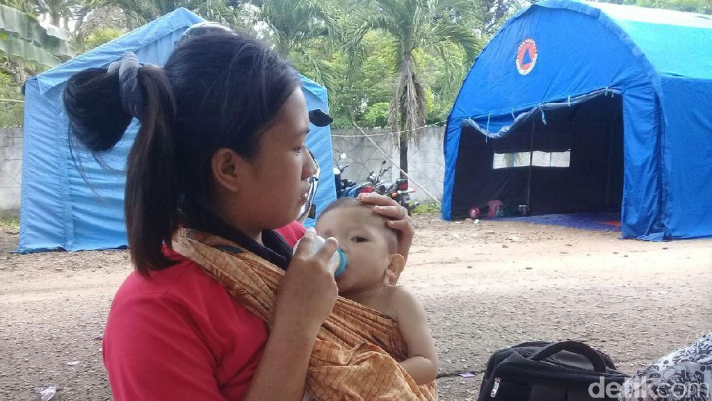 Bayi yang Alami Jantung Bocor di Pengungsian Dibawa ke RSCM