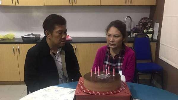 Kue Ultah dan Momen Pertemuan Ling Ling dengan Suami