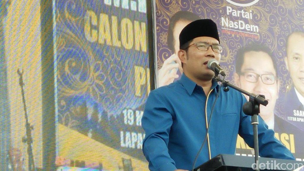 Siapa Berani Menantang Ridwan Kamil di Pilgub Jawa Barat?