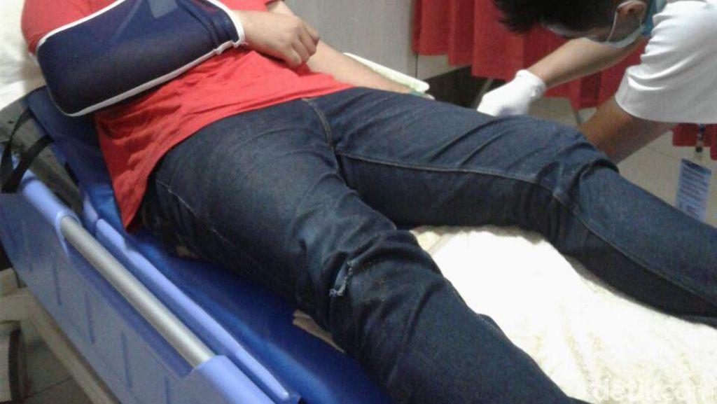 Pemimpin Redaksi Radio di Bandung Dikeroyok Gerombolan Bermotor
